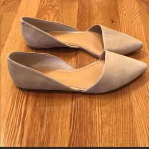 J.Crew pointed flats